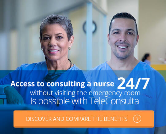 Access to consulting a nurse, without visiting the emergency room.